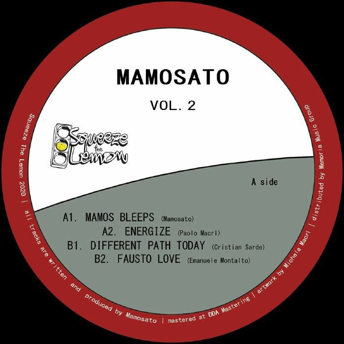 "( STL 003 ) MAMOSATO - Mamosato Vol 2 (12"") Squeeze The Lemon Italy"