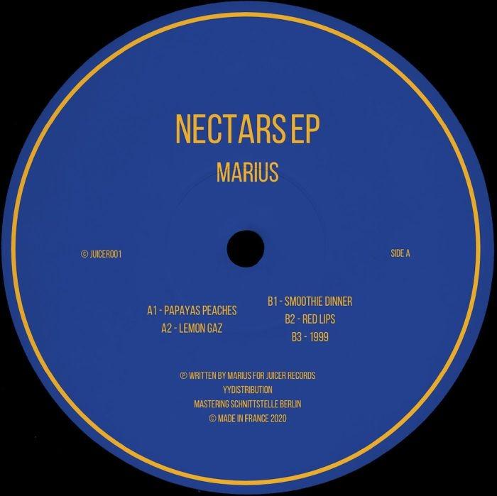 "( JUICER 001 ) MARIUS - Nectars EP (12"") Juicer France"