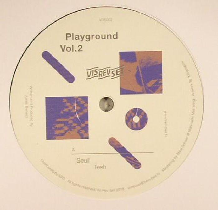"( VRS 002 ) SEUIL / PDD - Playground Vol 2 (12"") - Vis Rev Set"