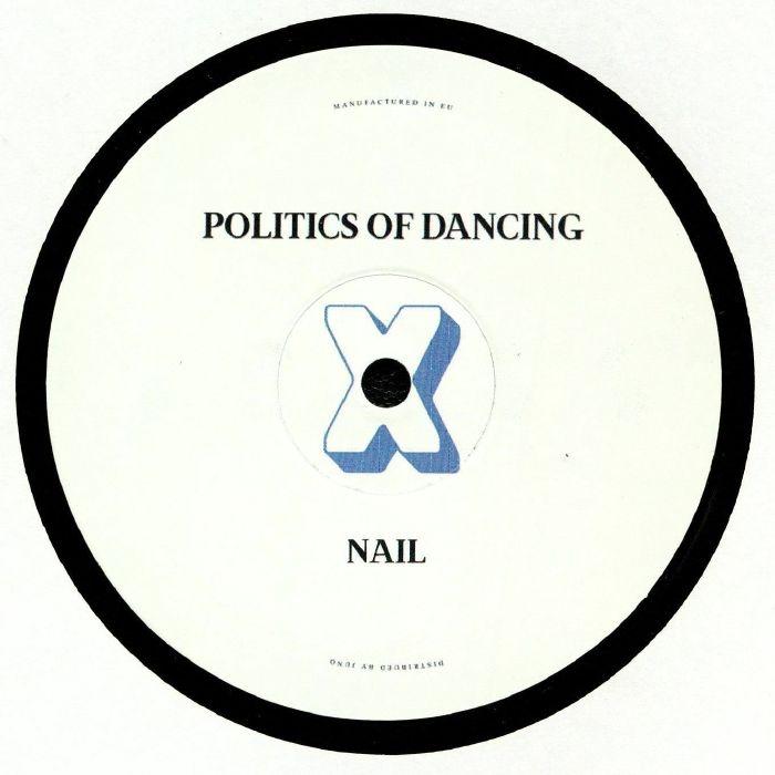 """( PODCROSS 005 ) POLITICS OF DANCING / CHRIS CARRIER / NAIL - Politics Of Dancing X Chris Carrier & Nail (140 gram vinyl 12"""") P.O.D Cross"""