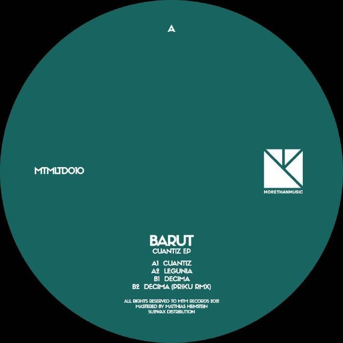 "(  MTMLTD 010 ) BARUT - Cuantiz EP (12"") MTM Holland"