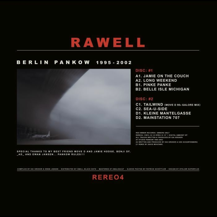 ( RERE O4 ) RAWELL - Berlin Pankow (2xLP) Red Ember Australia