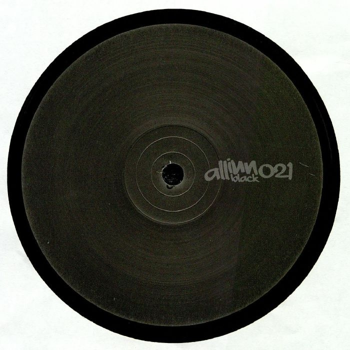 """( AIBLACK 021 )  POLA -  Mio Hill EP (12"""") All Inn Black"""