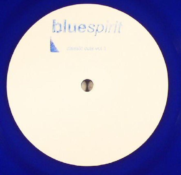 "( SPIRIT 2016 ) BLUESPIRIT aka STEVE O'SULLIVAN - Classic Cuts Vol 1 (hand-stamped 180gr blue vinyl 12"") Bluespirit"