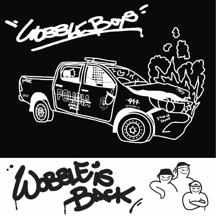 "( WB 002 ) WOBBLE BOYS - Wobble Is Back (12"") Wobble Boys"