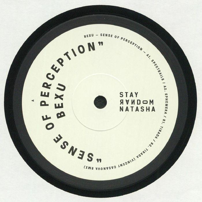 "(  SRNV 003 ) BEXU - Sense Of Perception (12"") Stay Random Natasha"