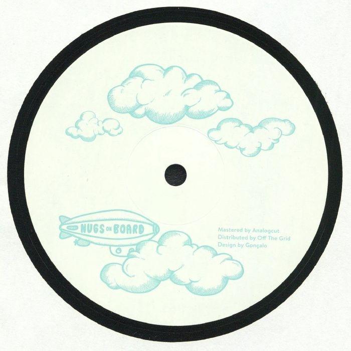 "( NUGS 001 ) Tiago MARQUES - Memory Recall EP (12"") Nugs on Board Portugal"