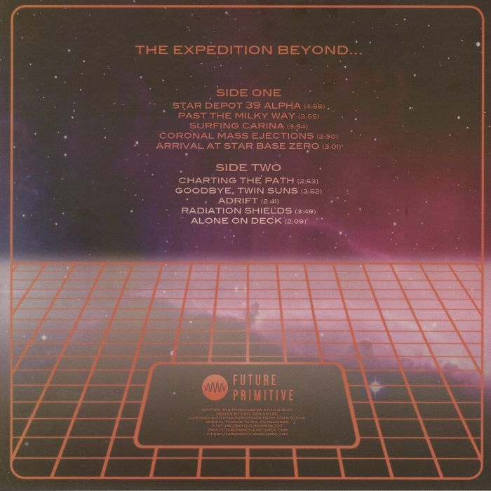 ( FPR 003 ) CN aka EOD - The Expedition Beyond ( lp ) Future Primitive