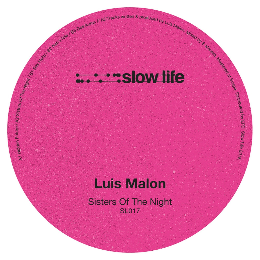 "( SL 017 ) LUIS MALON - Sister of Night (Vinyl only 12"") Slow life"
