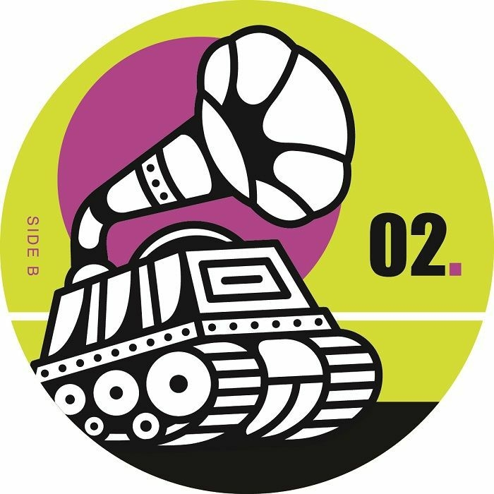 "(  BMR 02 ) DORMALD - Jabba EP (12"") Big Morning Spain"