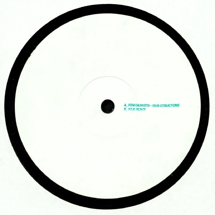 "( SYNCRO FD ) FEN D'ARIOTO - Dub Structure (limited hand-stamped 12"") Syncrophone France"