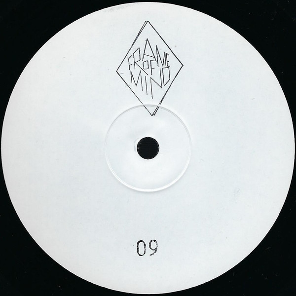 """( FOM 009 ) Hi-RYZE – Cyberia / After The Flood (white innersleeve. unprinted labels, rubberstamped 12"""") Frame Of Mind"""