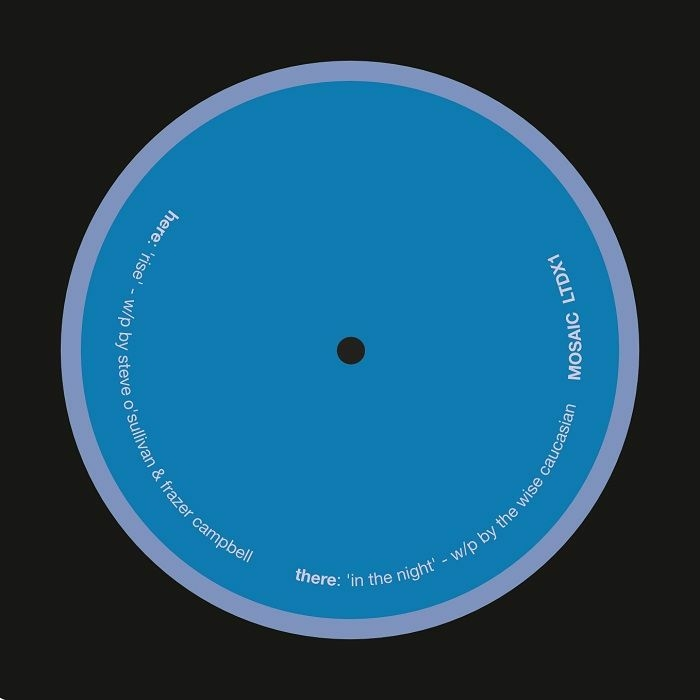 """( MOSAIC LTDX1 ) The WISE CAUCASIAN / STEVE O'SULLIVAN / FRAZER CAMPBELL - In The Night (limited 180gr vinyl 12"""") Mosaic"""