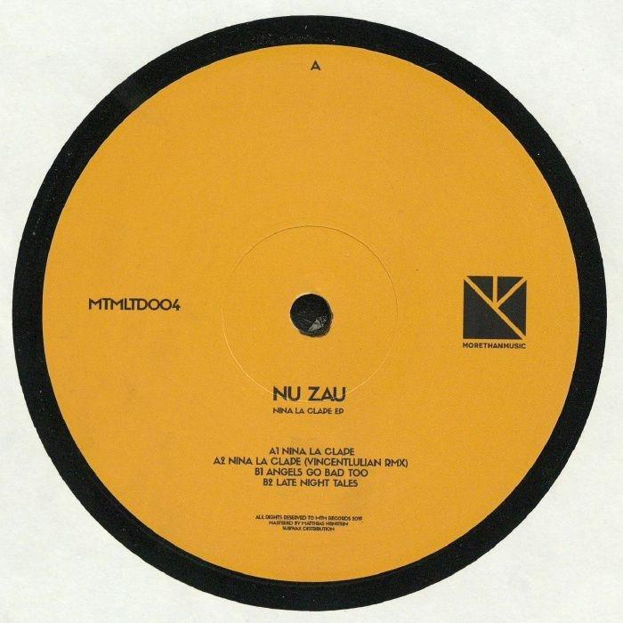 "( MTMLTD 004 ) NU ZAU - Nina La Clape EP (12"") MTM Holland"