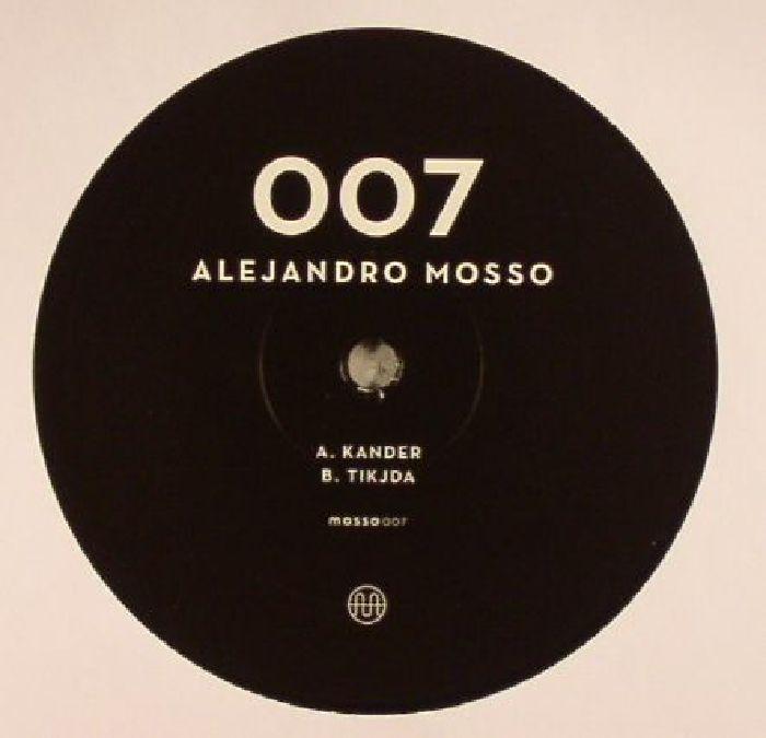 """( MOSSO 007 ) Alejandro MOSSO - Mosso 007 (12"""") Mosso"""
