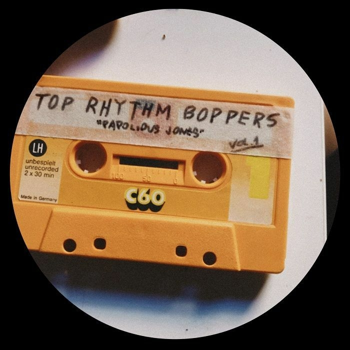 "( TRBO 001 ) PAPOLIOUS JONES  - Volume One (12"") Top Rhythmy"