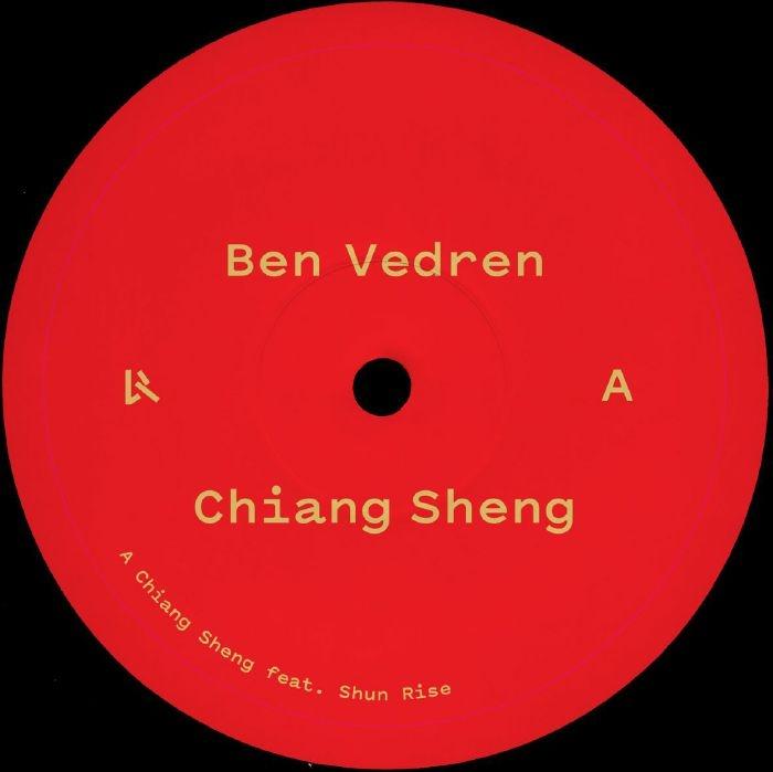 "( LOG 74 ) Ben VEDREN feat SHUN RISE - Chiang Sheng (12"") Logistic France"