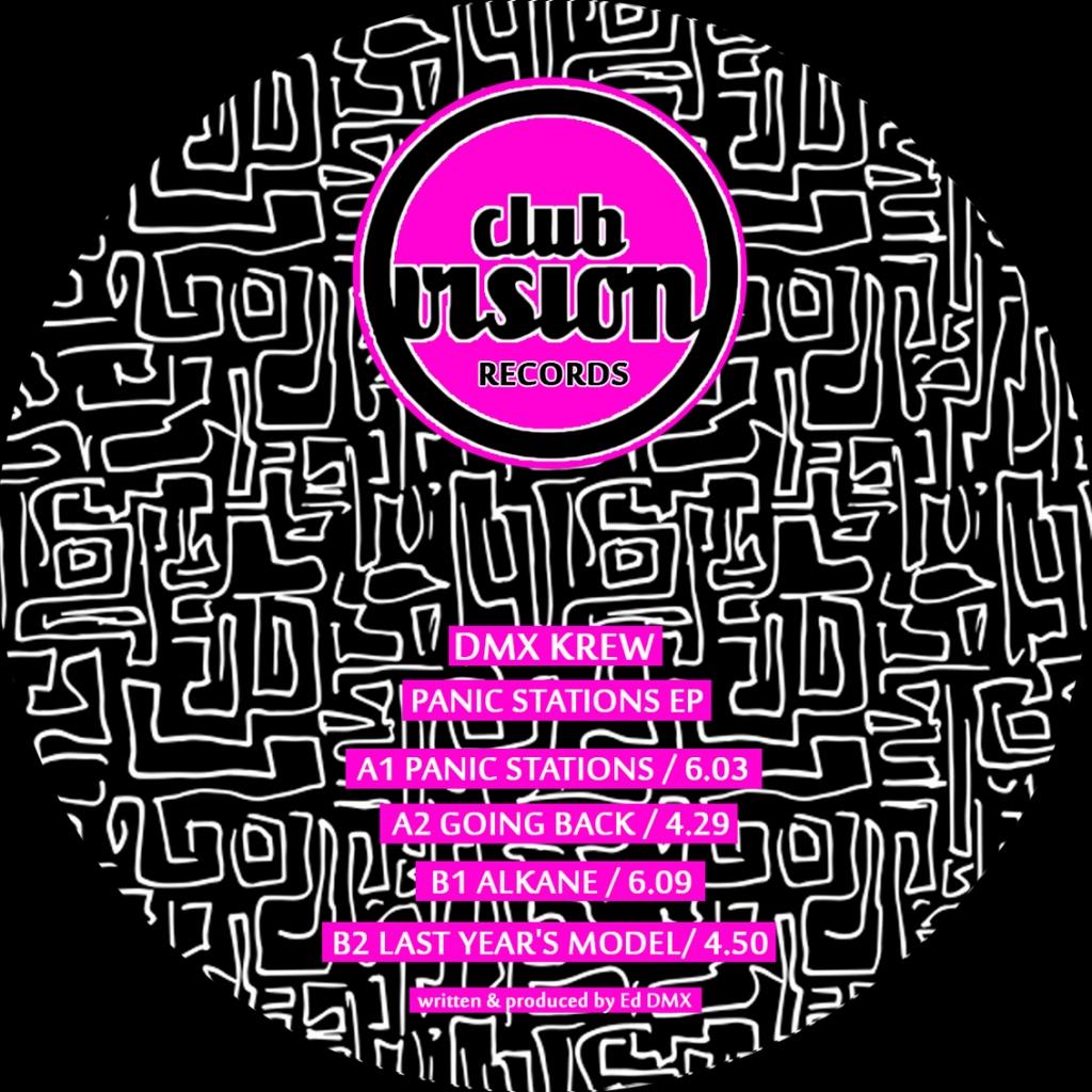 "( CV 05 ) DMX KREW - Panic Stations EP  (12"") Club Vision Records"