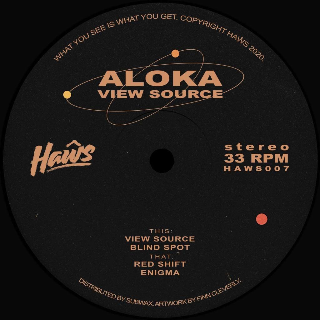 "( HAWS 007 ) ALOKA - View Source (12"") Haws"