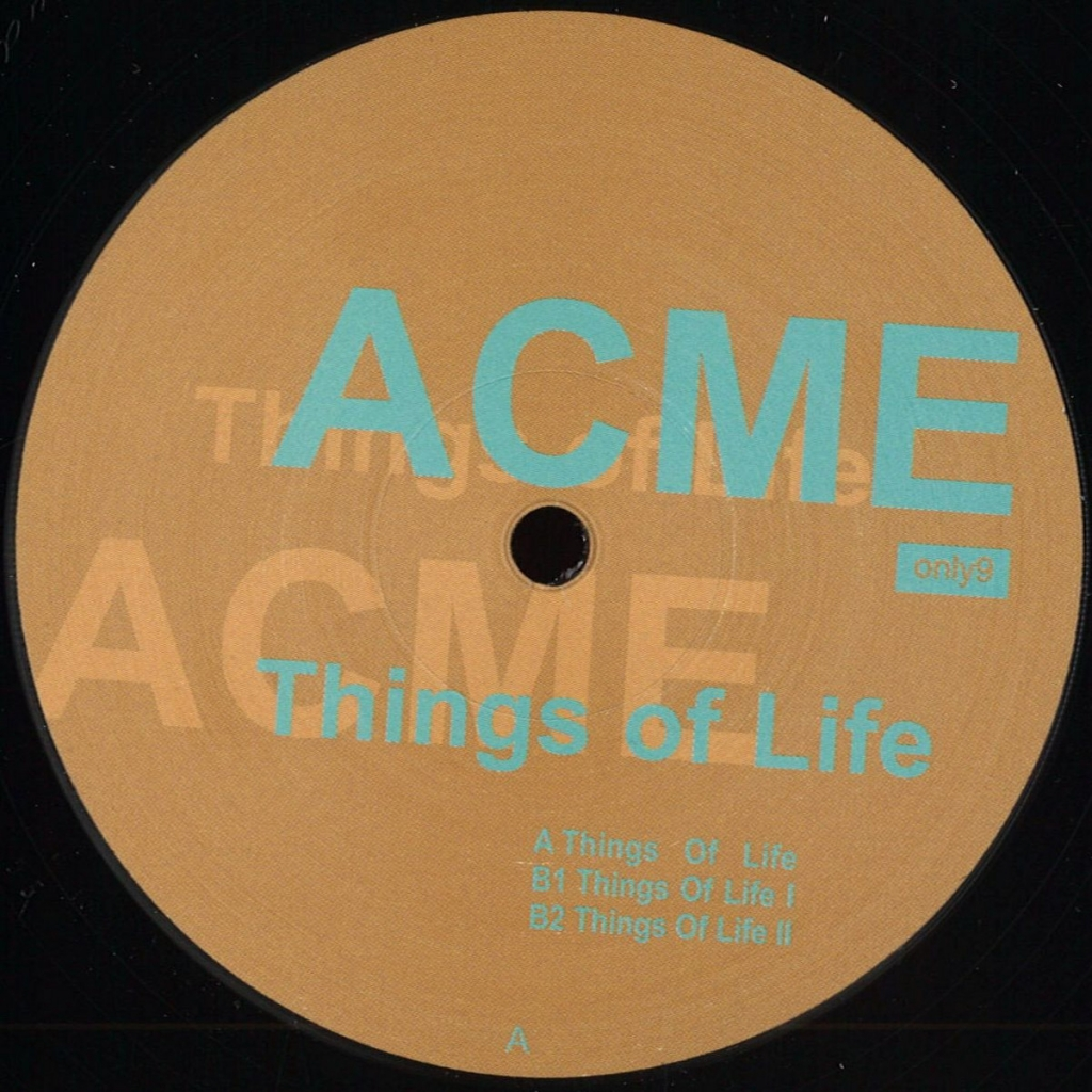"""( ONLY 9 ) ACME - Things Of Life (remastered) (12"""") - Only One Germany"""