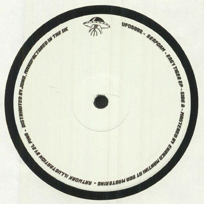 """(  UFOS 002 ) SEAFOAM - Easy Tiger EP (140 gram vinyl 12"""") UFO Series"""