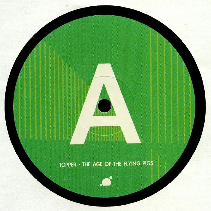 """( SIC 024 ) TOPPER - The Age Of The Flying Pigs (12"""") Sleep Is Commercial Germany"""
