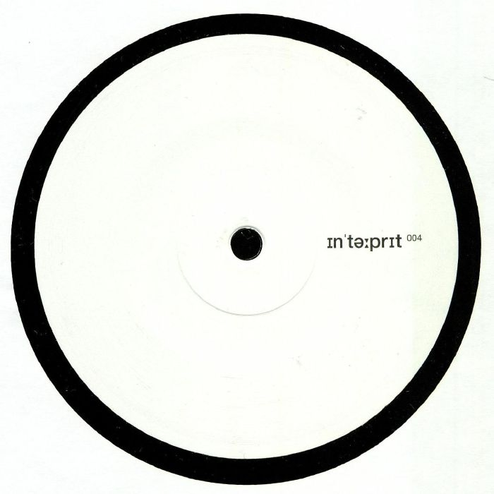 "( INTERP 004 ) INTERPRET - INTERP 004 (heavyweight vinyl 12"") Interpret Germany"