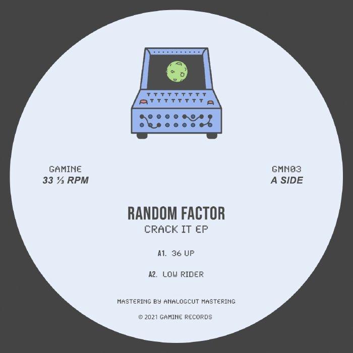 "( GMN 03 ) RANDOM FACTOR - Crack It (12"") Gamine Spain :"