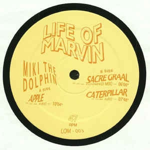 """( LOM 003 )  MIKI THE DOLPHIN - Life Of Marvin Vol 3 (12"""") Life Of Marvin Holland"""