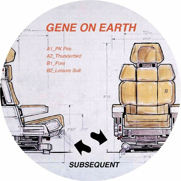 """( SUB 007 ) GENE ON EARTH - SUB 007 (repress 12"""") Subsequent"""