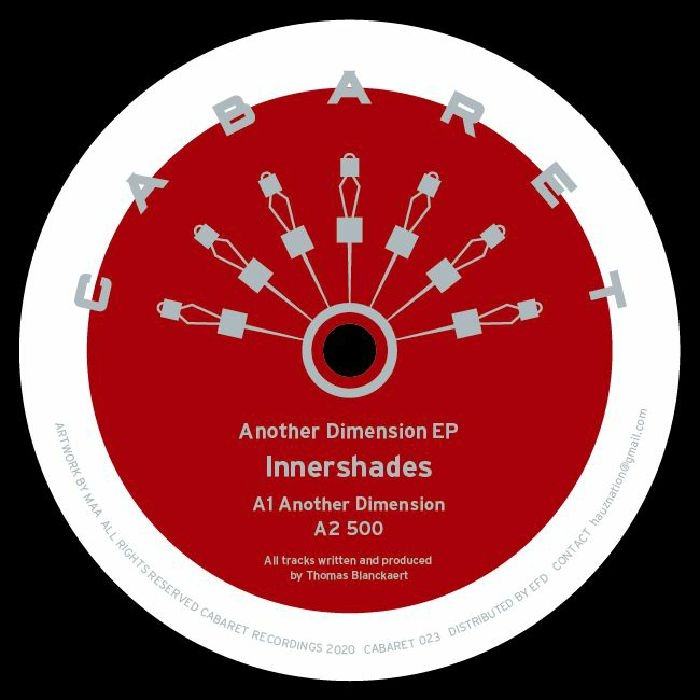 "( CABARET 023 ) INNERSHADES - Another Dimension EP (12"")  Cabaret Japan"