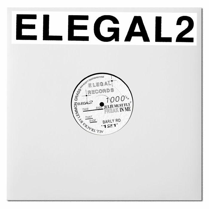 "( ELEGAL 2 ) LEMMON GRASS - Elegal2 EP (12"") Klasse Wrecks"