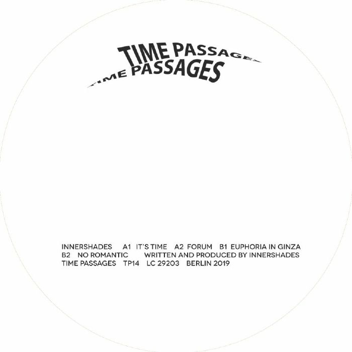 "( TP 14 ) INNERSHADES - It's Time (12"") Time Passages Germany"