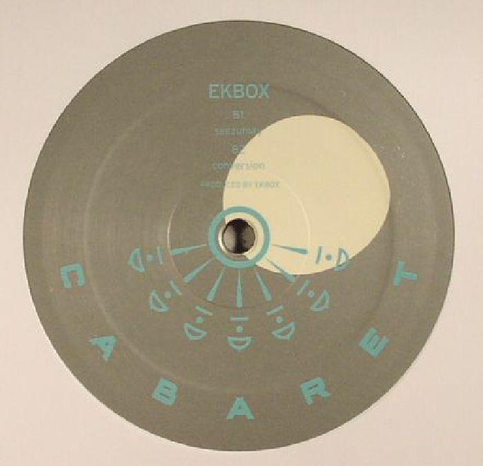 """( CABARET 009 ) EKBOX - Tidally Locked EP (12"""") - Cabaret Japan"""