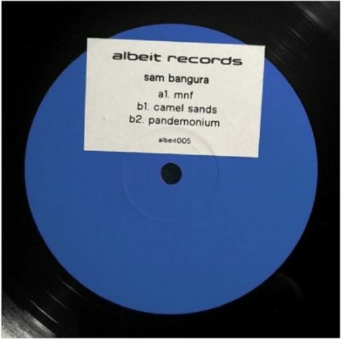 "( ALBEIT 005 ) Sam BANGURA - Hullabaloo (12"" limited to 200 copies) Albeit"
