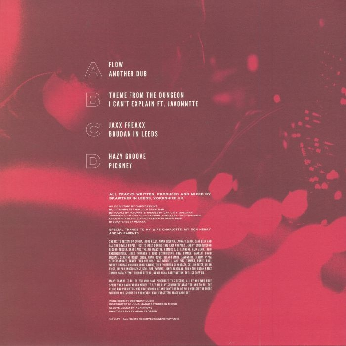 "( NGYLP 1 ) Brawter -  Transient States (180 gram vinyl doube 12"") Negentropy"