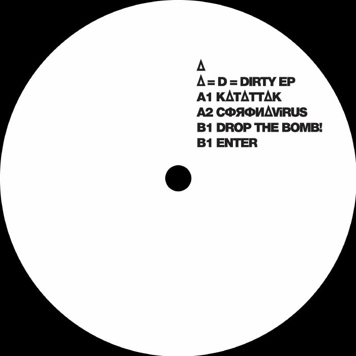 """(  XRD 002 ) MYSTERIOUS DIRTY D - Mysterious Dirty D Equals D Equals Dirty (12"""") Exarde"""