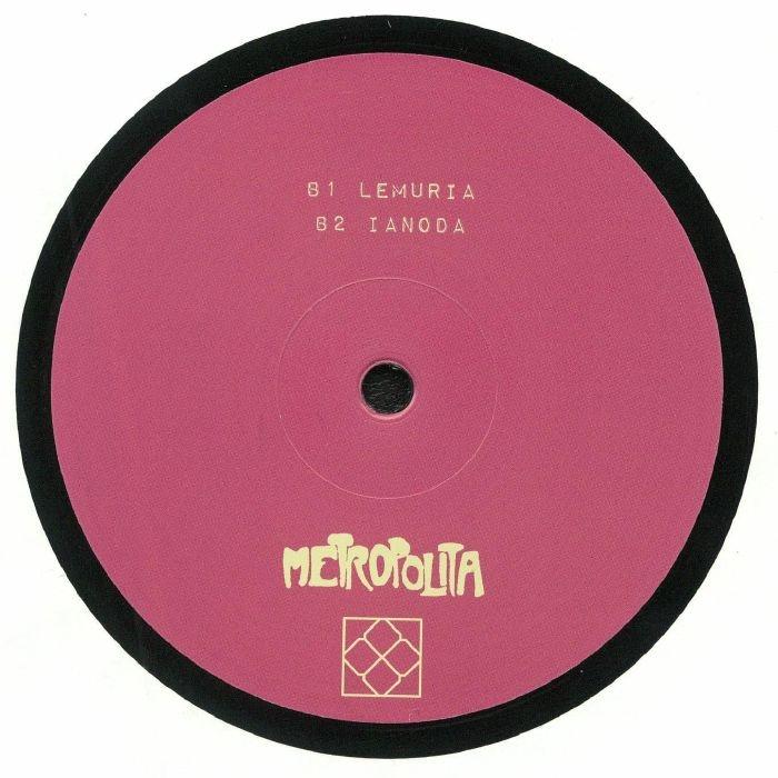 """( MET 006 ) RICCARDO -  All Things Are One (12"""") Metropolita"""