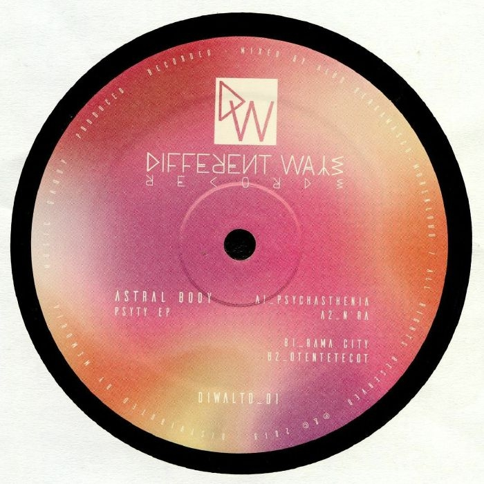 "(  DIWALTD 01 ) ASTRAL BODY - Psyty EP (12"") Different Ways Italy"