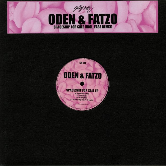 """( SN 011 ) ODEN & FATZO - Spaceship For Sale EP (12"""") Salty Nuts"""