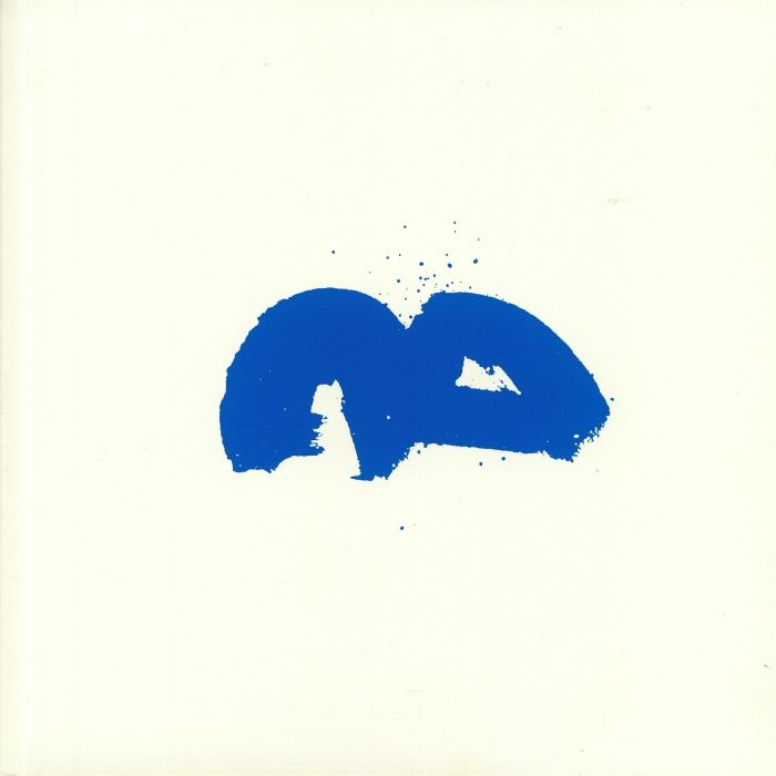 """( AUA 002 ) Satoshi TOMIIE / NAO GUNJI - Synesthesia (hand-numbered blue vinyl 12"""" in screen-printed sleeve limited to 200 copies) A_A France"""