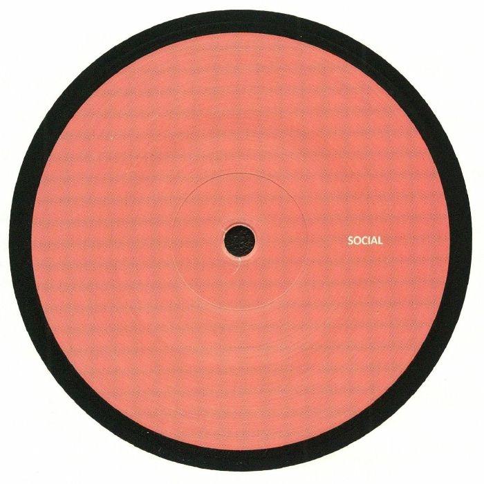"""( SCL 010 ) SOCIAL - Social 10 (limited 180 gram vinyl 12"""") (1 per customer) Social"""
