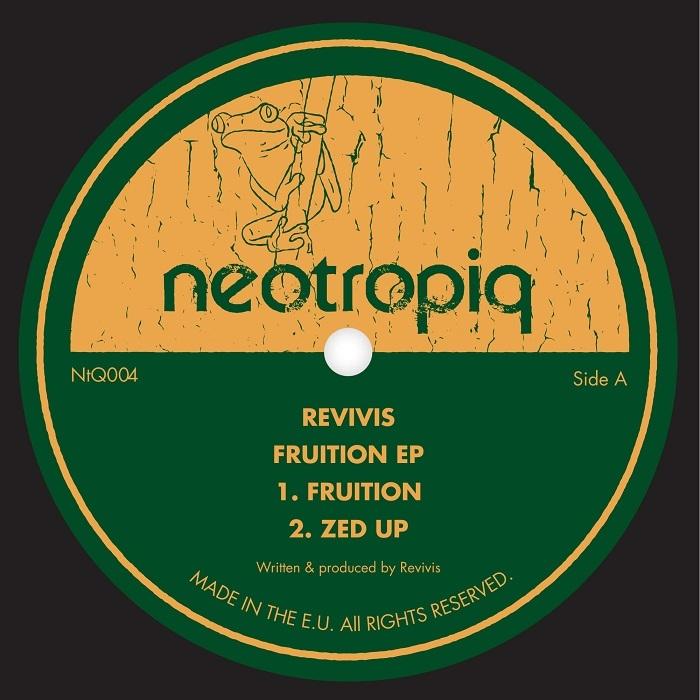 "( NTQ 004 ) REVIVIS - Fruition EP (12"") Neotropiq Spain"