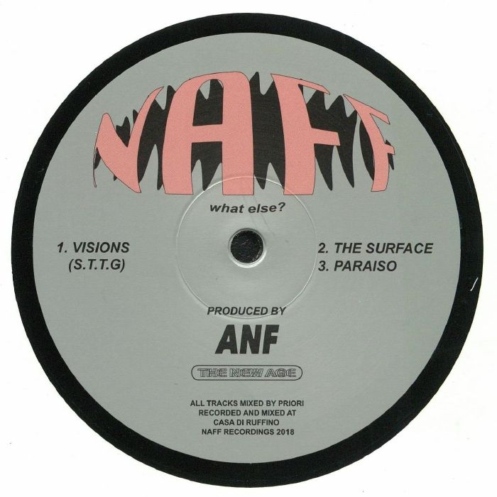 "( NAFF 002 ) ANF - Visions (12"") Naff Canada"
