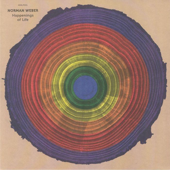 (  MMLP 001 ) Norman WEBER - Happenings Of Life (transparent silver vinyl 2xLP + MP3 download code) Muna Musik Germany