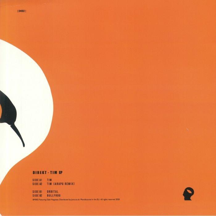 "( BM 002 ) DIREKT - Tim EP (Arapu mix) (limited 180 gram vinyl 12"") Botanic Minds"