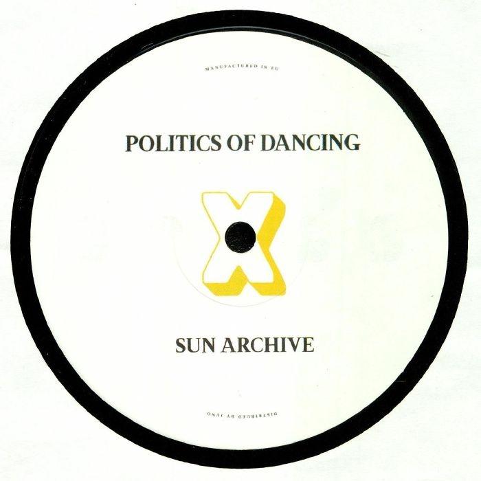 "( PODCROSS 004 ) POLITICS OF DANCING / CHRIS STUSSY / SUN ARCHIVE - Politics Of Dancing X Chris Stussy & Sun Archive (140 gram vinyl 12"") P.O.D Cross"