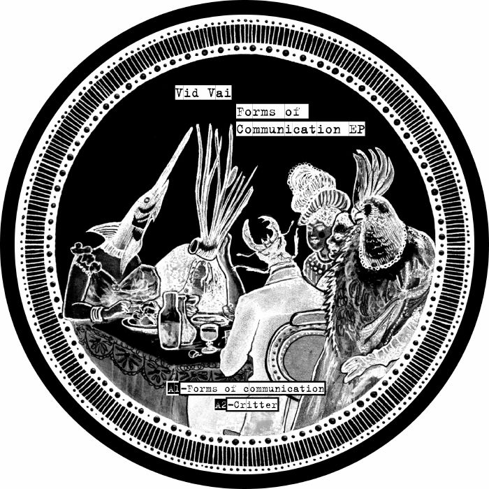 """( PHI 005 ) VID VAI - Forms Of Communication EP (12"""") PHI Germany"""