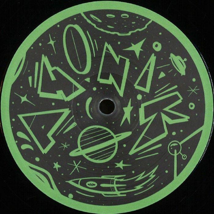 "( PNK 004 ) GAB JR / ADMO - Cyber Romance EP (12"") Phonik Germ"