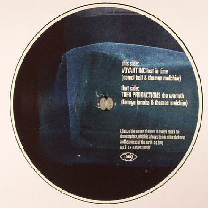 "( ASC 8 )  VOYANT INC aka THOMAS MELCHIOR / DANIEL BELL / TOFU PRODUCTIONS aka THOMAS MELCHIOR / FUMIYA TANAKA Aspect Music 8 (12"") Aspect"